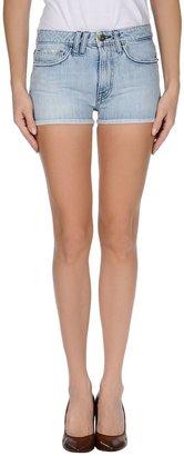 CYCLE Denim shorts $124 thestylecure.com