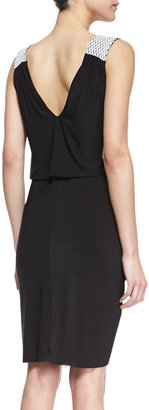 T-Bags T Bags Braided-Shoulder Knot Dress