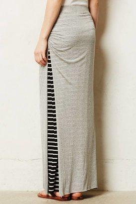 Anthropologie Saturday/Sunday Stripe Split Maxi Skirt