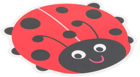Vue Kids Placemat - Ladybug