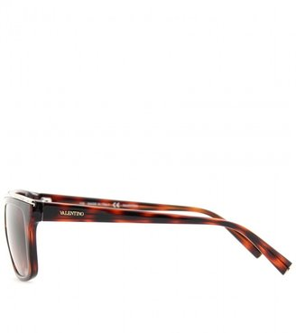 Valentino SQUARE FRAME SUNGLASSES WITH EMBELLISHMENT