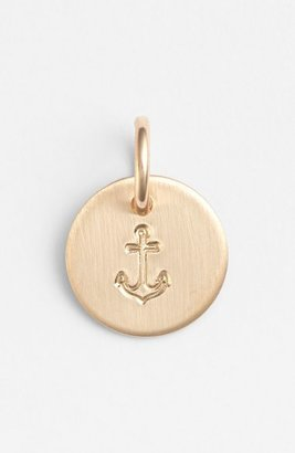 Women's Nashelle Anchor Mini Stamp Charm $22 thestylecure.com