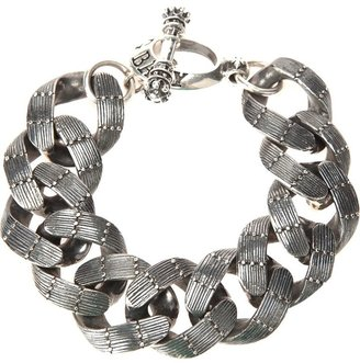 King Baby textured chain link bracelet $2,288 thestylecure.com