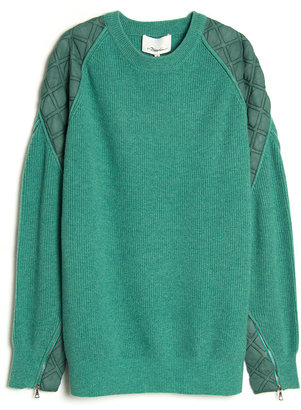 3.1 Phillip Lim Quilted Pullover