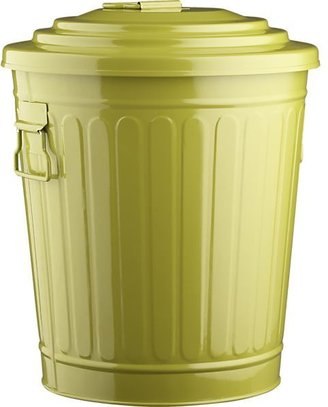 Crate & Barrel Green 4.5-Gallon Utility Pail