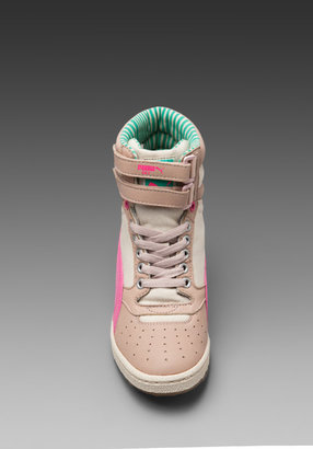 Puma by Mihara My-66 LC Sneaker in Peach Blush/Mint Leaf