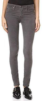 AG Adriano Goldschmied Women's Velvet Corduroy Legging Super Skinny Jean