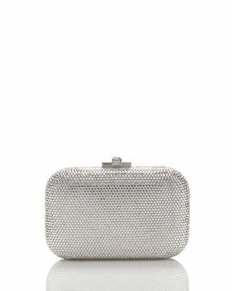 Judith Leiber Couture Crystal Slide-Lock Clutch Bag, Rhine $1,995 thestylecure.com