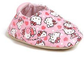 Stride Rite 'Hello Kitty®' Crib Shoe (Baby Girls)