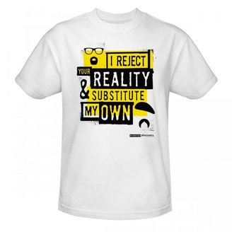 Re-ject MythBusters I Reject Your Reality T-Shirt - White
