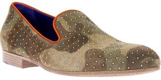 Camo 181 'Brad' print slipper