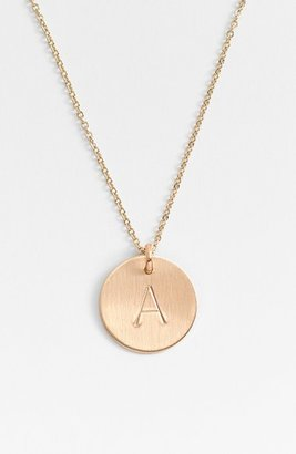 Women's Nashelle 14K-Gold Fill Initial Disc Necklace $73 thestylecure.com