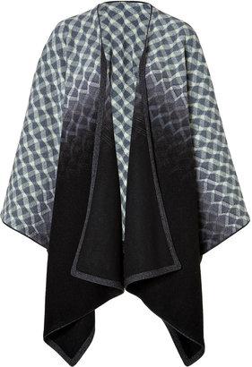 Missoni Patterned Wool Cape