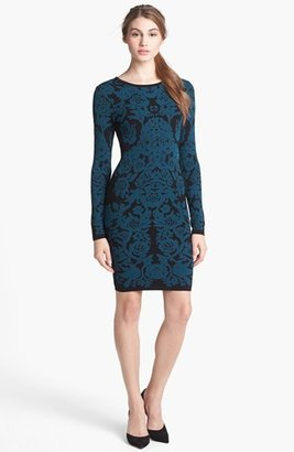 Nordstrom FELICITY & COCO Floral Sweater Dress Exclusive)