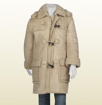 Gucci Shearling Montgomery Coat