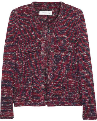 Etoile Isabel Marant Ariana knitted cotton-blend jacket
