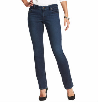 LOFT Tall Curvy Straight Leg Jeans in Vintage Autumn Wash
