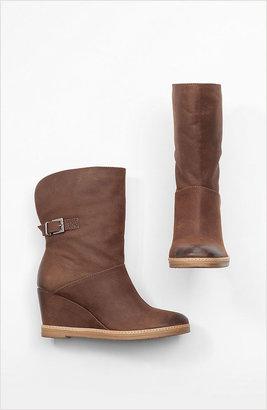 J. Jill Wedge-heel cuffed booties