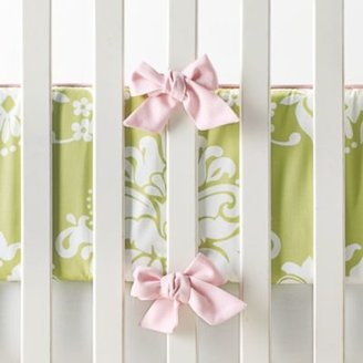 Kate Sprout Damask Crib Bumper