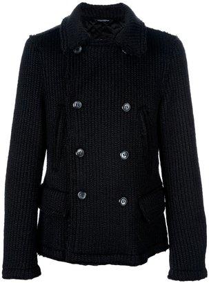 Dolce & Gabbana knitted pea coat