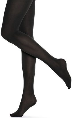 Hue Opaque Tights $15 thestylecure.com