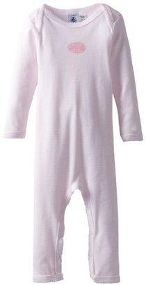 Petit Bateau Baby-Girls Infant Long Sleeve Romper
