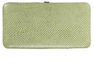Xhilaration Hinge Clutch - Lizard Green