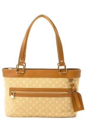 Louis Vuitton Pre-owned: caramel monogram canvas 'Mini Lucille PM' tote