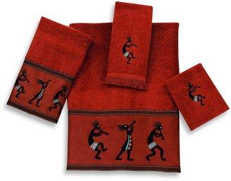 Avanti Kokopelli Bath Towel Collection in Copper