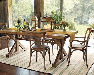 Williams-Sonoma Reclaimed Wood Rectangular Pine Table, Honey