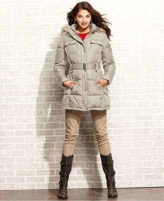 Esprit Coat, Hooded Puffer Quilted Parka