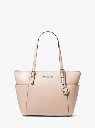 MICHAEL Michael Kors Jet Set Large Saffiano Leather Top-Zip Tote Bag
