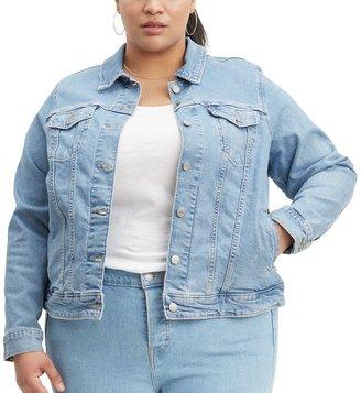 Levi's Plus Size Denim Trucker Jacket