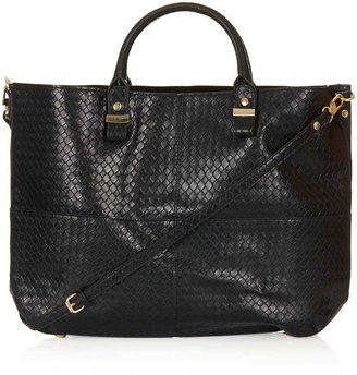 Topshop Woven Lady Tote