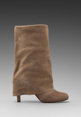 See by Chloe Short Foldover Suede Boot
