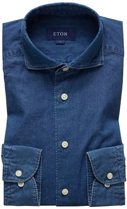 Eton Soft Dressy Denim Shirt - Contemporary Fit