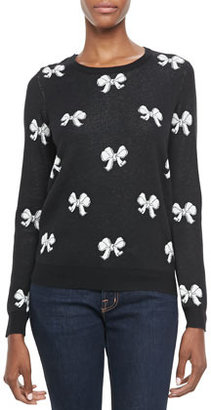 Joie Valera Bow-Pattern Sweater