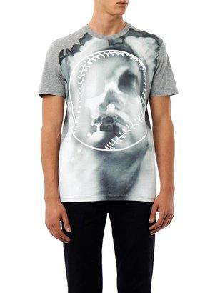 Givenchy Overblown skull and baseball print T-shirt