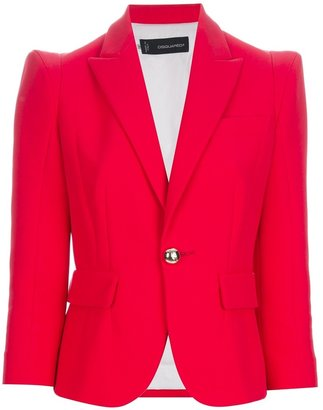 DSquared Dsquared2 three-quarter sleeve blazer