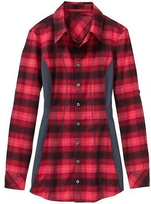 Athleta Fin Creek Flannel Top