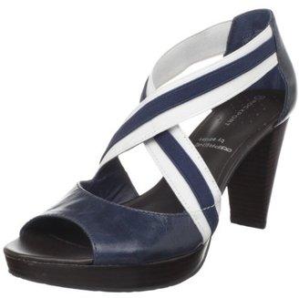 Rockport Women's Audry Cross Strap Gore Sandal