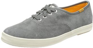 Keds Women's Champion Suede Oxford,Graphite,9 M US
