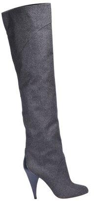 Azzaro Charcoal High Heel Boots