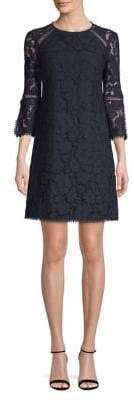 Vince Camuto Bell Sleeve Lace Dress