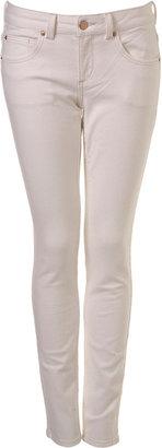 Topshop White Skinny Baxter Jeans