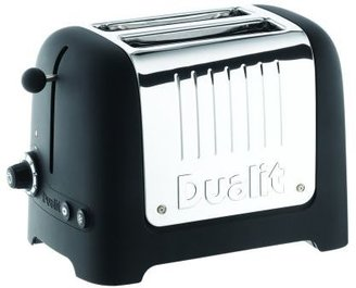 Dualit Lite Black 2-Slice Soft-Touch Toaster