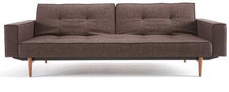 Innovation Split Back Sofa With Arms Brown