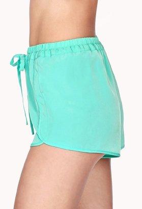 Forever 21 Drawstring Dolphin Shorts