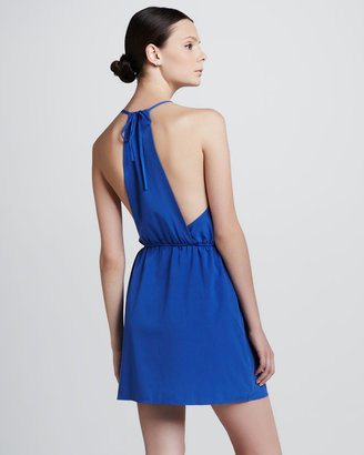 Aaron Ashe Naples Tie-Back Dress