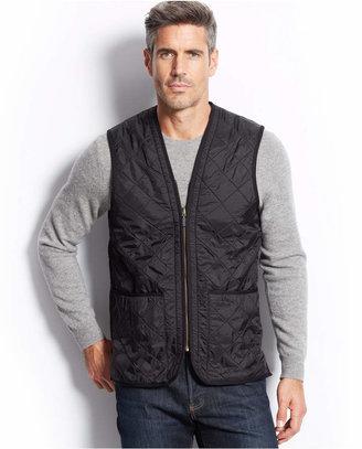 Barbour Polarquilt Waistcoat/Zip-In Liner $129 thestylecure.com